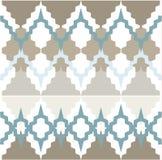 Ornamento do teste padrão do vetor Textura luxuosa elegante para a matéria têxtil, as telas ou os fundos dos papéis de parede Imagem de Stock
