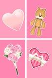 Ornamento do Valentim Fotografia de Stock Royalty Free