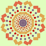 Ornamento do vetor Teste padrão sem emenda bonito para a textura Elemento decorativo Fotografia de Stock