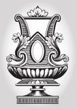 Ornamento do vintage ilustração royalty free