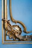 Ornamento dorato Fotografie Stock
