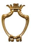 Ornamento dorato antico Immagine Stock Libera da Diritti
