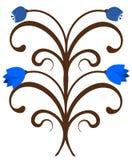 Ornamento dos Bluebells Ilustração Stock