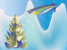 Ornamento dos feriados - vetor Fotos de Stock