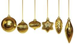 Ornamento dourado imagem de stock royalty free