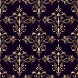 Ornamento dourado gráfico ilustração stock