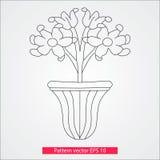 Ornamento e decoração, elementos do projeto Decoração da página Ilustração do vetor Isolado no fundo branco Imagem de Stock