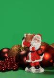 Ornamento e decorações do Natal Imagens de Stock