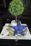 Ornamento e decorações do Natal imagens de stock royalty free