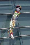 Ornamento e flâmulas coloridos Imagens de Stock