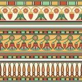 Ornamento egipcio Ollection del ¡de Ð Fotografía de archivo libre de regalías