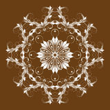 Ornamento elegante redondo Foto de archivo