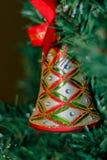 Ornamento en árbol Foto de archivo libre de regalías