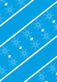 Ornamento en fondo azul ilustración del vector