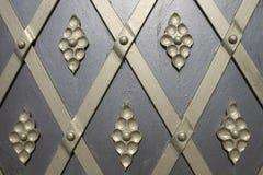 Ornamento en la puerta Fotografía de archivo libre de regalías