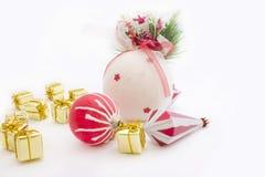 Ornamento en una Navidad Fotografía de archivo libre de regalías