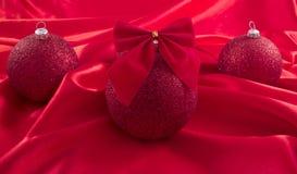 Ornamento en una Navidad Fotos de archivo libres de regalías
