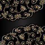 Ornamento envelhecido vetor com risco e atrito ilustração royalty free