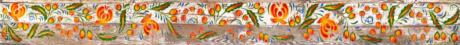 Ornamento eslavo tradicional Imagenes de archivo