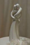 Ornamento especial de la torta de boda foto de archivo