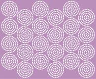 Ornamento espiral dos corações Fotos de Stock Royalty Free