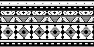 Ornamento etnico del jacquard Fotografia Stock Libera da Diritti