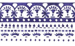 Ornamento etnico del jacquard Fotografia Stock