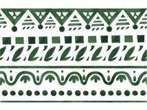 Ornamento etnico del jacquard Immagine Stock Libera da Diritti