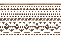 Ornamento etnico del jacquard Immagini Stock