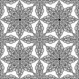 Ornamento etnico orientale Abst della mandala del fondo arabo dell'ornamento illustrazione di stock