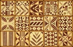 Ornamento etnico polinesiano di stile Fotografia Stock Libera da Diritti