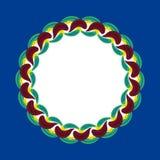 Ornamento etnico svedese Immagini Stock