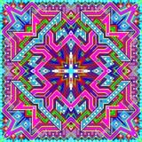 Ornamento fantástico de la almohada colorida hecho en estilo oriental Fotos de archivo