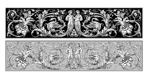 Ornamento feericamente Fotos de Stock Royalty Free
