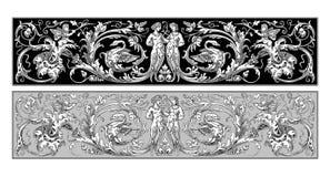 Ornamento feericamente ilustração royalty free