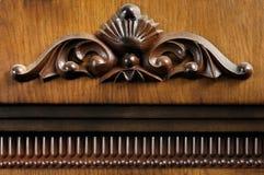 Ornamento feito da madeira Imagem de Stock Royalty Free