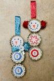 Ornamento feito à mão Foto de Stock