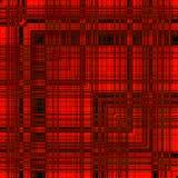 Ornamento festivo rojo Fotos de archivo libres de regalías