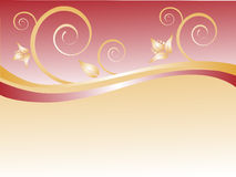 Ornamento florais Imagens de Stock Royalty Free