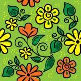 Ornamento floral Fotos de archivo
