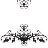 Ornamento floral ilustração royalty free
