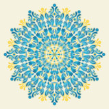 Ornamento floral Fotografia de Stock Royalty Free