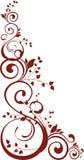 Ornamento floral Imagem de Stock