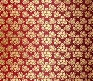 Ornamento floral Foto de Stock Royalty Free