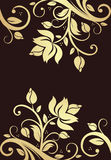 Ornamento floral Foto de archivo libre de regalías