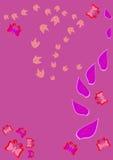 Ornamento floral abstracto Ilustración del Vector