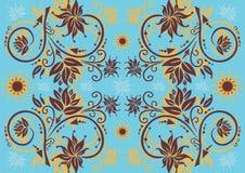 Ornamento floral abstrato Fotografia de Stock Royalty Free
