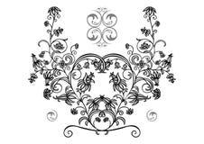 Ornamento floral abstrato Fotografia de Stock