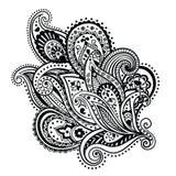 Ornamento floral bonito ilustração do vetor