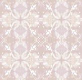 Ornamento floral cor-de-rosa Imagens de Stock Royalty Free